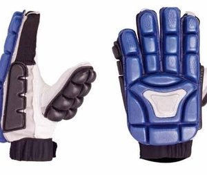 Blue Field Hockey Gloves