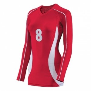 Ladies Volleyball Full Sleeve Jersey