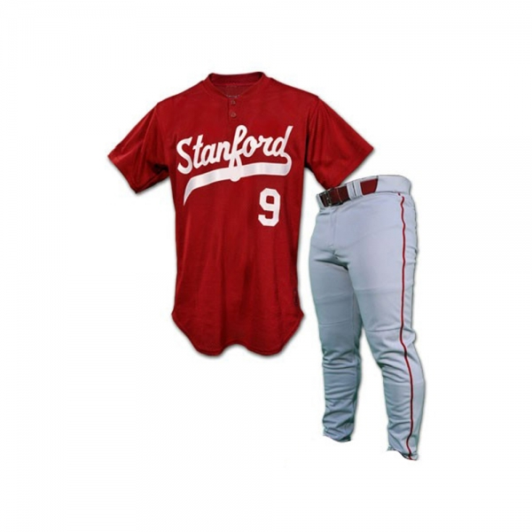 Baseball Uniform with full Buttons Shirt