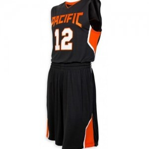 Basketball Uniform with Pointed Side Panel