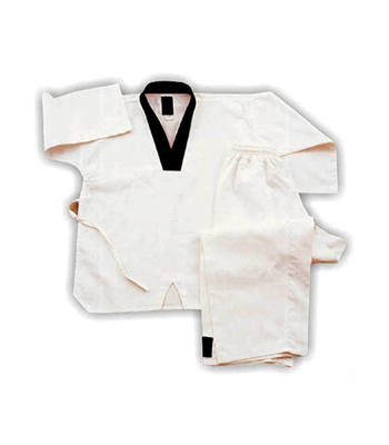 Taekwando Uniform with Draw String Waist Pant