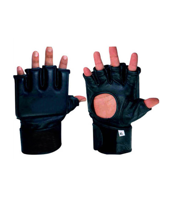 MMA Grappling Gloves with Hole in the Palm
