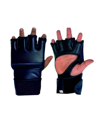 MMA Grappling Gloves in Cowhide Leather