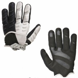 Black And White field Hockey Gloves