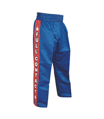 Kick Boxing Trouser with Elastic Waist and Draw String