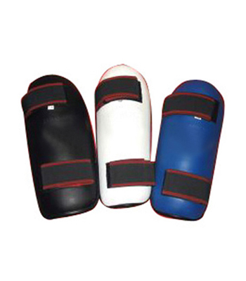 Shin Guard made of PU and Artificial Leather