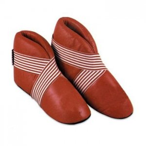 Karate Shoes Made of Outside leather inside PU Padding