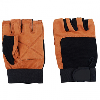 Weightlifting Gloves in Goatskin Leather