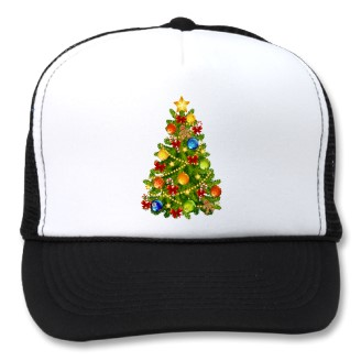 Christmas Tree Cap