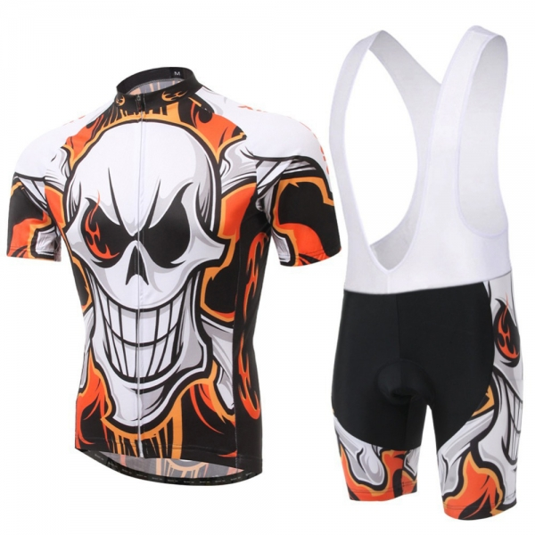 Cycling Kit With Sublimated Short bib and Shirt