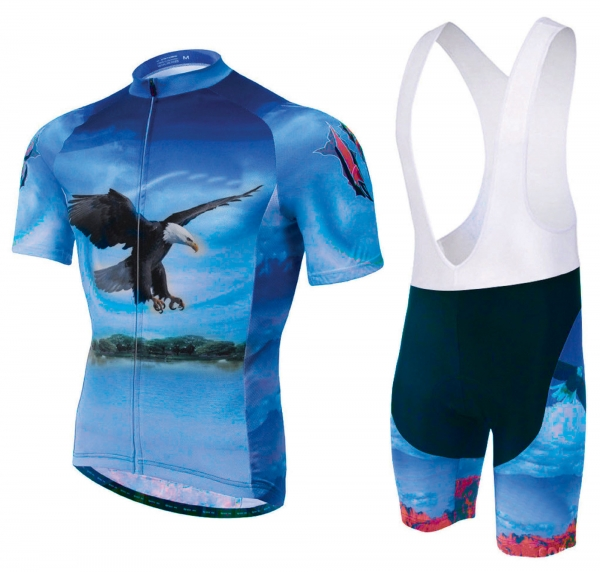 Cycling Kit with Sublimated Shirt