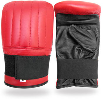 Punching Mitts in cowhide Leather