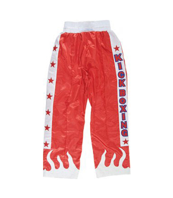 Boxing Trouser in 100% Heavy Satin/Polyester
