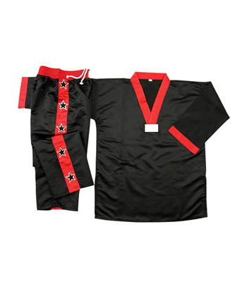 Boxing Uniform with Sleeves & V Neck Gown