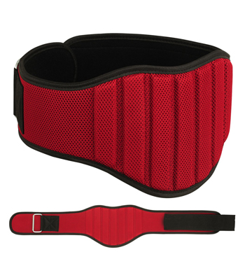Weightlifting Belt in Nylon with Foam Padding