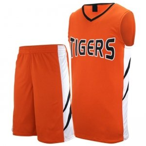 Uniform for basketball with Sleeveless jersey
