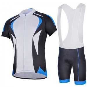 Cycling Kit with Compress Bib Short and Shirt