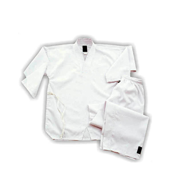 Taekwando Uniform with White Collar