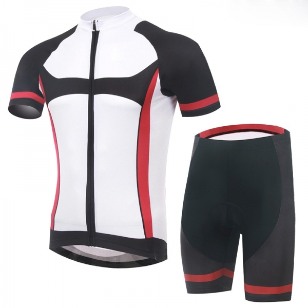 Men's Cycling Kit with Compress Shirt and Short