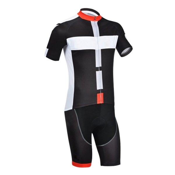 Cycling Kit with Compression Short and Shirt